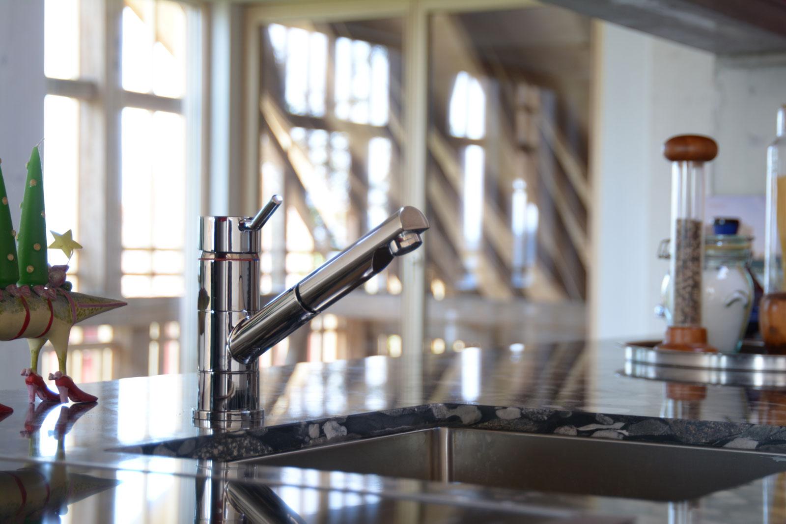 Dachgeschoss Küche neue remise